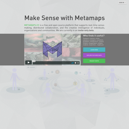 Metamaps open source mindmapping++