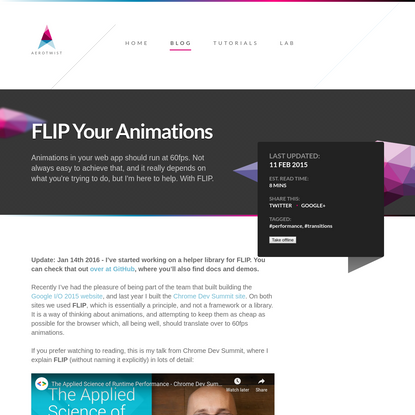FLIP Your Animations