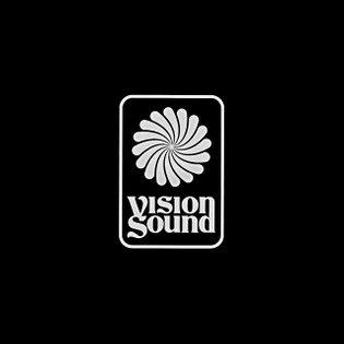 Vision Sound logo for @silentaddy + @apedrums