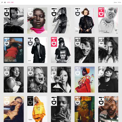 i-D cover archive: 1980 to 2015   Cover 353 - 1