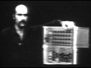 Rutt/Etra Video Synthesizer Demo (1974)