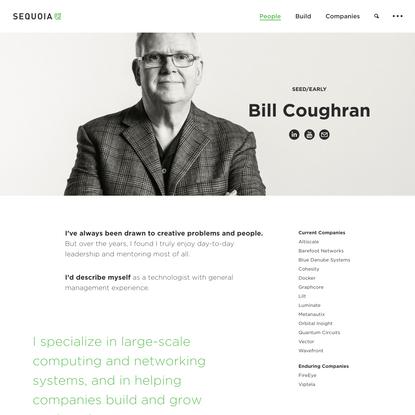 Sequoia - Bill Coughran