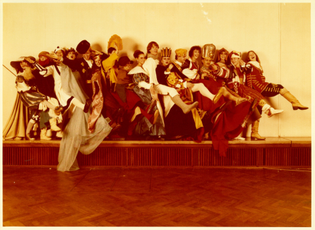 Class of 1979 in Historical Costumes